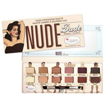 The Nude Dude Nude Eyeshadow Palette