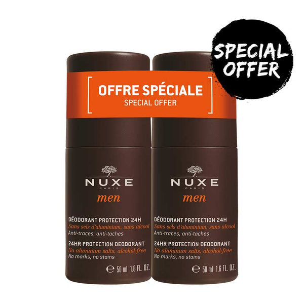 NUXE Men 24HR Protection Deodorant Duo Pack