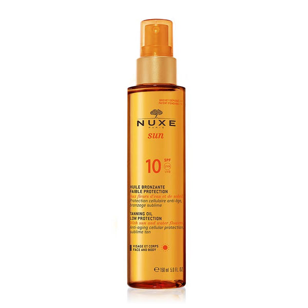 NUXE Sun Tanning Oil for Face & Body