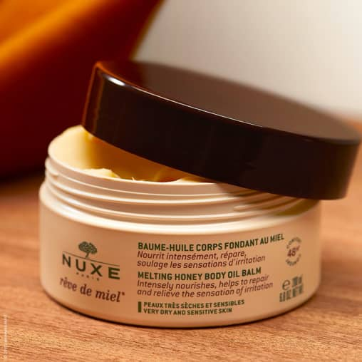 NUXE Reve de Miel Melting Honey Body Oil Balm | Body Moisturiser