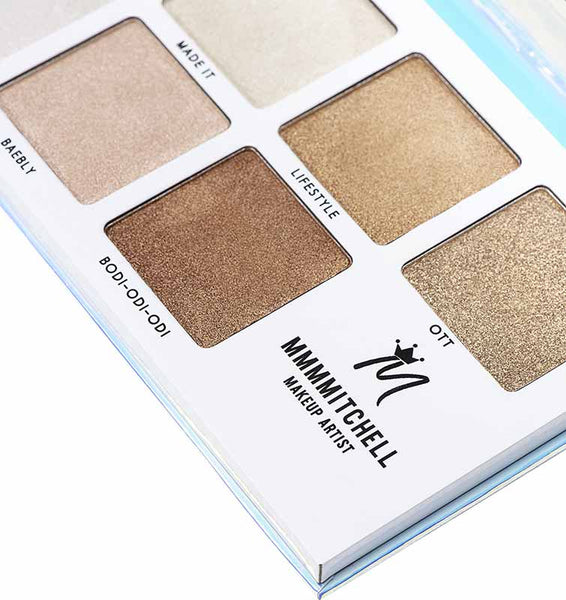 BPerfect MMMMitchell Sub Zero Highlighter Palette