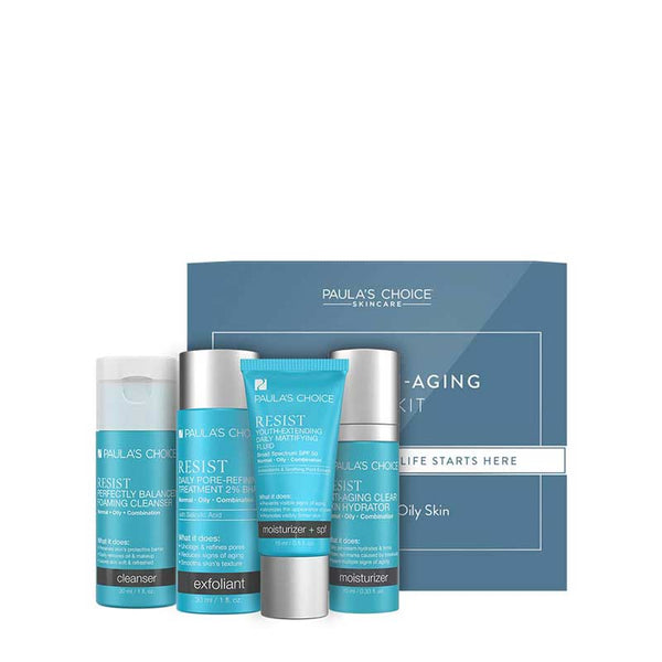 Resist Anti-Aging Trial Kit Combination to Oily Skin