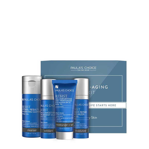 Paula's Choice Resist Anti-Aging Trial Kit Normal to Dry Skin