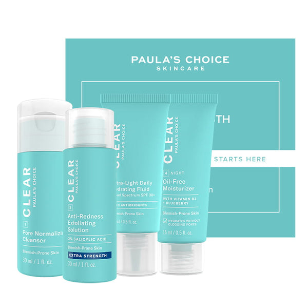 Paula's Choice Clear Extra Strength Trial Kit Acne-Prone Skin