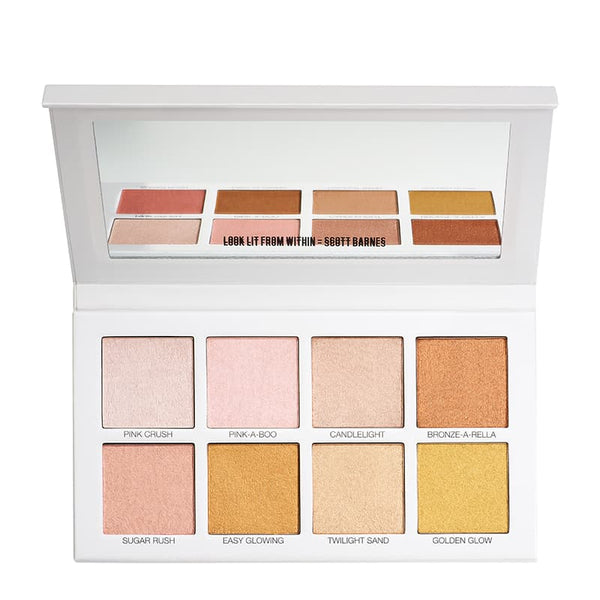 Scott Barnes Glowy & Showy No 1 Highlighter Palette | Scott Barnes Makeup