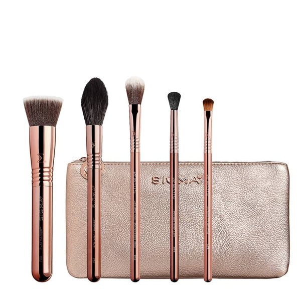 Sigma Beauty Cor-de-Rosa Collection Iconic Brush Set