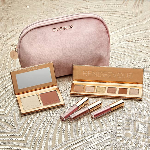 Sigma Beauty Gift Set | Sigma Holiday Collection | Sigma Beauty Rendezvous Makeup Collection Gift Set