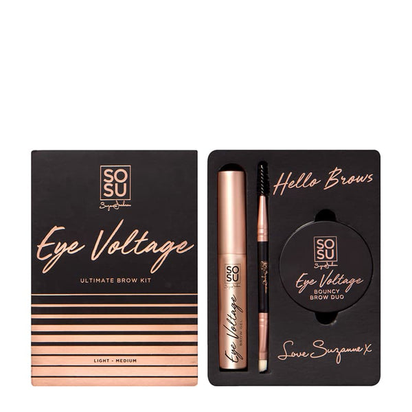 SOSU by Suzanne Jackson Eye Voltage Ultimate Brow Kit