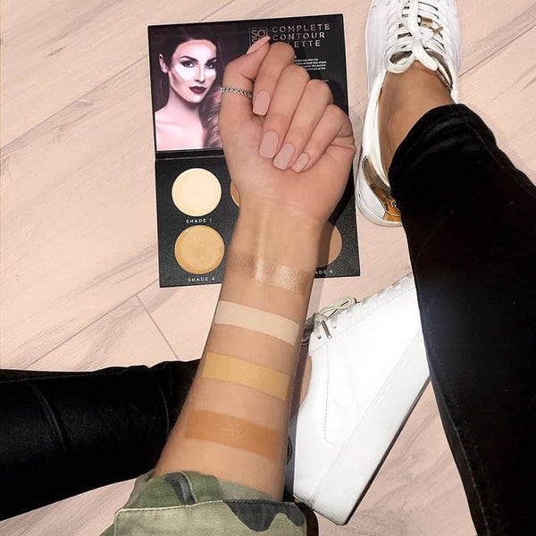 SOSU by Suzanne Jackson Complete Contour Palette - swatches