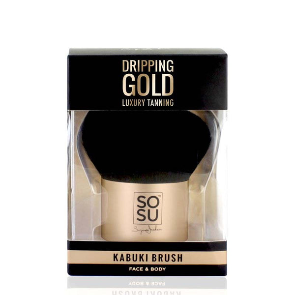 SOSU Dripping Gold Bronzer Brush | SOSU by Suzanne Jackson | Powder Brush