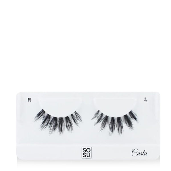 SOSU by Suzanne Jackson Premium Lashes - Carla | Human Hair Lashes