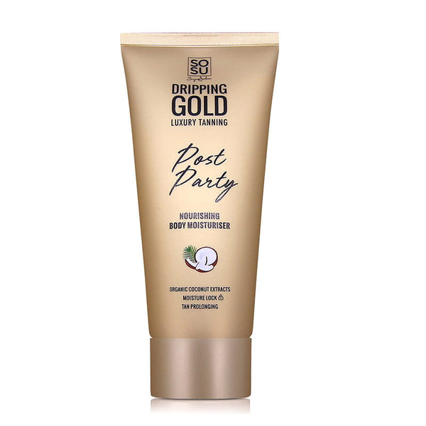 SOSU by Suzanne Jackson Dripping Gold Post Party Nourishing Body Moisturiser | Tan Prolonging