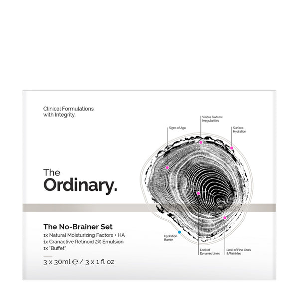 The Ordinary The No-Brainer Set | The Ordinary Gift Set