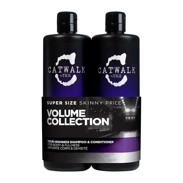 Your Highness Volumising Shampoo and Conditioner 750mlx2 Tween Duo