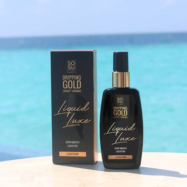 SOSU by Suzanne Jackson Dripping Gold Liquid Luxe Liquid Tan - Ultra Dark | Liquid Luxe Tan