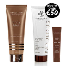 Vita Liberata Body Blur Latte Value Set - FREE Fabulous Lotion 100ml & Body Blur Sunless Glow 10ml