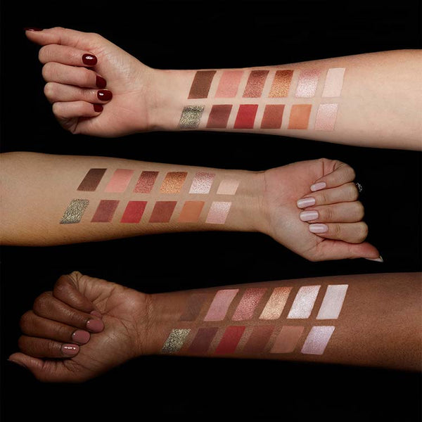 Warm Neutrals Volume 2 Eyeshadow Palette Hands
