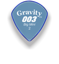 Load image into Gallery viewer,  003 Big Mini 2.0mm Blue Acrylic Guitar Pick Handmade Custom Best Acoustic Mandolin Electric Ukulele Bass Plectrum Bright Loud Faster Speed