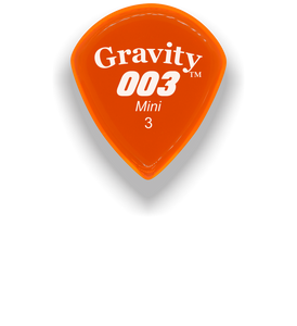 003 Mini Jazz 3.0mm Orange Acrylic Guitar Pick Handmade Custom Best Acoustic Mandolin Electric Ukulele Bass Plectrum Bright Loud Faster Speed