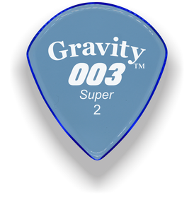 003 Super 2.0mm Blue Acrylic Guitar Pick Handmade Custom Best Acoustic Mandolin Electric Ukulele Bass Plectrum Bright Loud Faster Speed