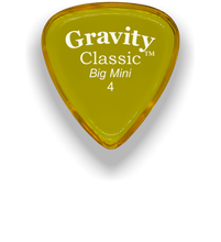 Load image into Gallery viewer, Classic Big Mini 4mm Yellow Guitar Pick