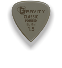 Load image into Gallery viewer, Classic Pointed Big Mini 1.5mm Gold Guitar Pick Handmade Custom Best Acoustic Mandolin Electric Ukulele Bass Plectrum Bright Loud Faster Speed