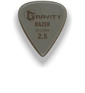 Razer Big Mini 2.5mm Gold Guitar Pick Handmade Custom Best Acoustic Mandolin Electric Ukulele Bass Plectrum Bright Loud Faster Speed