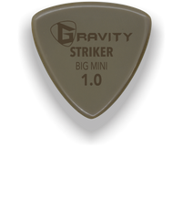 Load image into Gallery viewer, Striker Big Mini 1.0mm Gold Guitar Pick Handmade Custom Best Acoustic Mandolin Electric Ukulele Bass Plectrum Bright Loud Faster Speed