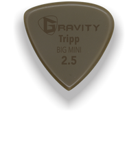 Load image into Gallery viewer, Tripp Big Mini 2.5mm Gold Guitar Pick Handmade Custom Best Acoustic Mandolin Electric Ukulele Bass Plectrum Bright Loud Faster Speed