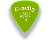 Load image into Gallery viewer, Razer Big Mini 1.5mm Fluorescent Green Guitar Pick