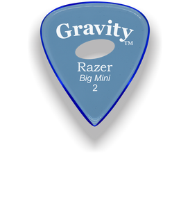 Razer Big Mini 2.0mm Blue Elipse Grip Guitar Pick