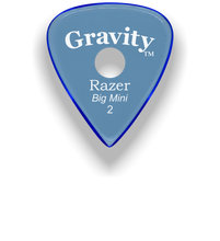 Load image into Gallery viewer, Razer Big Mini 2.0mm Blue Single Round Grip Guitar Pick
