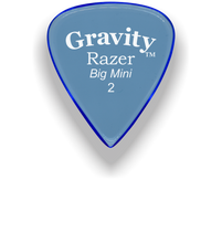 Load image into Gallery viewer, Razer Big Mini 2.0mm Blue Guitar Pick