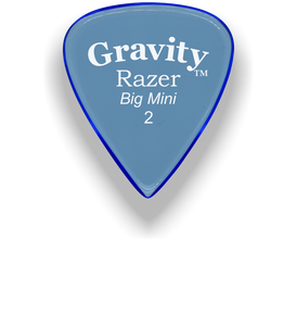 Razer Big Mini 2.0mm Blue Guitar Pick
