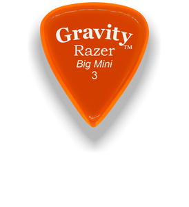 Razer Big Mini 3.0mm Orange Guitar Pick