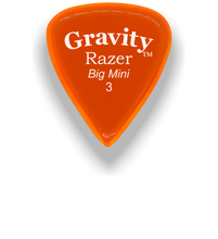 Load image into Gallery viewer, Razer Big Mini 3.0mm Orange Guitar Pick