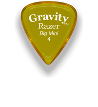 Load image into Gallery viewer, Razer Big Mini 4.0mm Yellow Guitar Pick