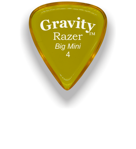 Razer Big Mini 4.0mm Yellow Guitar Pick