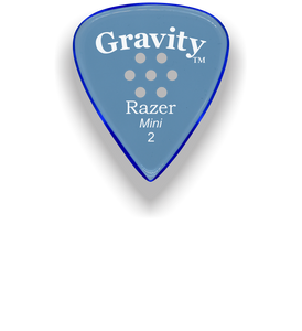 Razer Mini 2.0mm Blue Multi-Hole Grip Guitar Pick