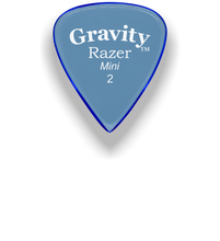 Load image into Gallery viewer, Razer Mini 2.0mm Blue Guitar Pick