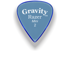 Razer Mini 2.0mm Blue Guitar Pick
