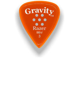 Razer Mini 3.0mm Orange Multi-Hole Grip Guitar Pick