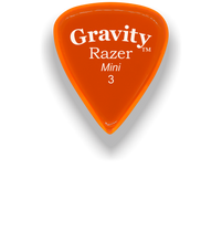 Load image into Gallery viewer, Razer Mini 3.0mm Orange Guitar Pick