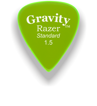 Load image into Gallery viewer, Razer Standard 1.5mm Fluorescent Green Guitar Pick