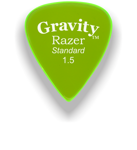 Razer Standard 1.5mm Fluorescent Green Guitar Pick