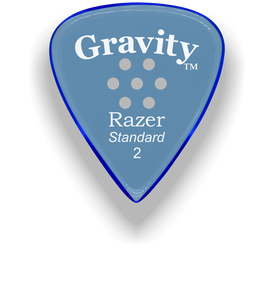 Razer Standard 2.0mm Blue Multi-Hole Grip Guitar Pick