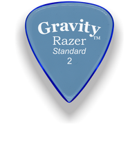 Load image into Gallery viewer, Razer Standard 2.0mm Blue Guitar Pick