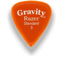 Load image into Gallery viewer, Razer Standard 3.0mm Orange Guitar Pick
