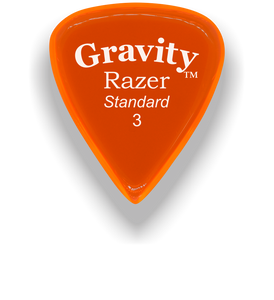 Razer Standard 3.0mm Orange Guitar Pick
