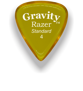 Razer Standard 4.0mm Yellow Guitar Pick